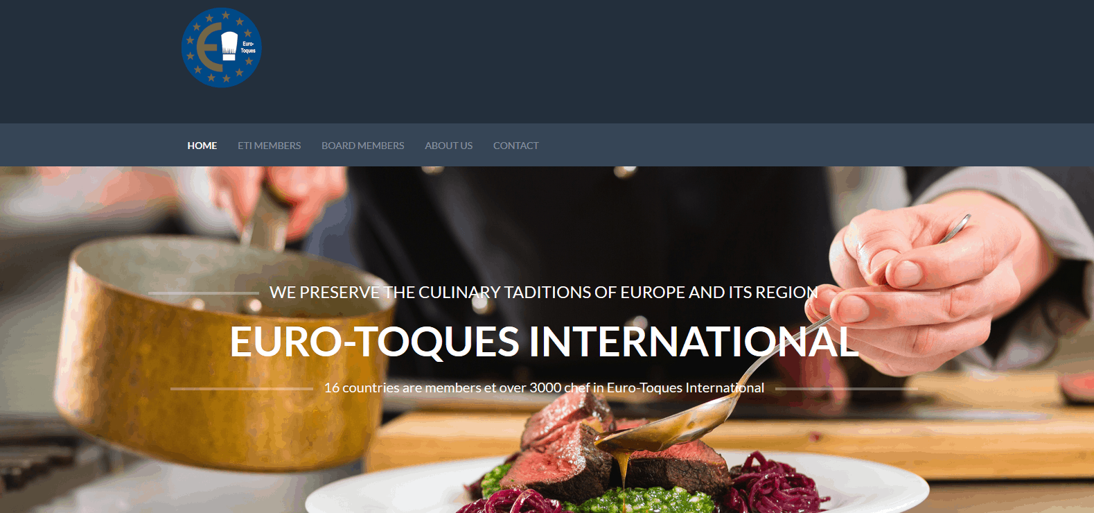 Home Page ETI 2015