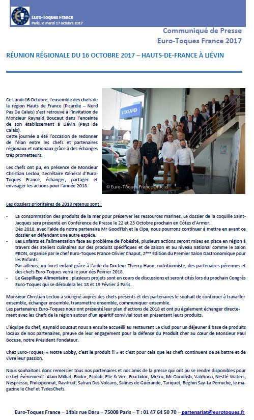 CP ETF Réunion Régionale Hauts de France