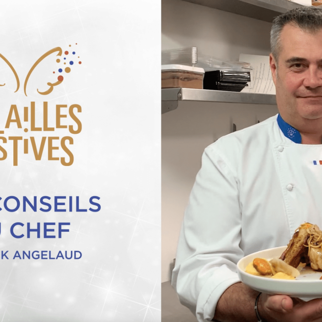 Volailles Festives : Le Chapon selon Franck Angelaud