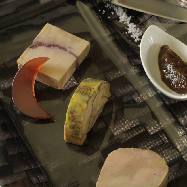 Foie gras de Canard en marbrures aux épices de pain d'épices
