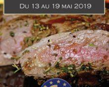 La Viande à Table !! du 13 au 19 mai 2019, première édition de «La Semaine de la Viande»