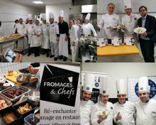 MasterClass «Fromages et Chefs»  – Vendredi 18 octobre 2019