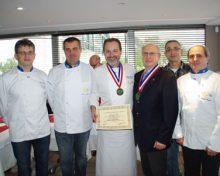 Le 27 décembre 2012 , intronisation de Philippe Gaudou à l'Académie Culinaire