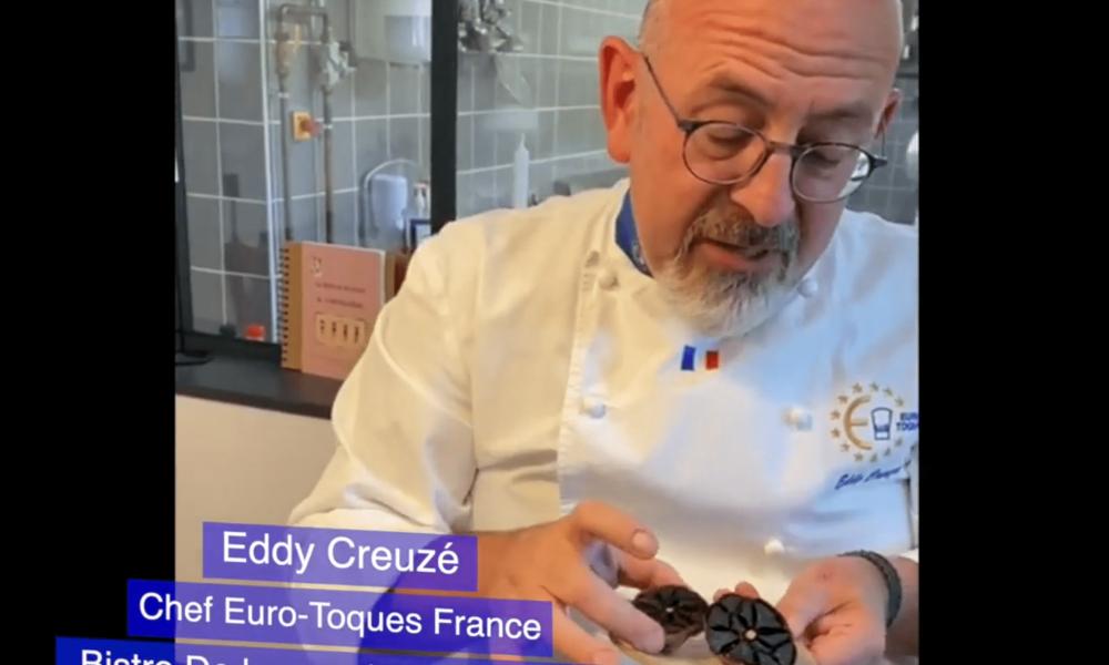 «Un chef dans mon assiette» … Eddy Creuzé et l'ail noir