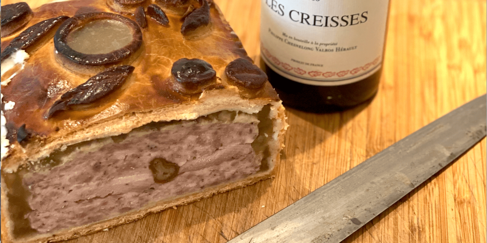 Cailles des Vosges en pâté-croute