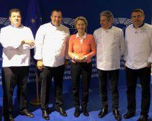 Les chefs Euro-Toques France à la rencontre des Parlementaires européens
