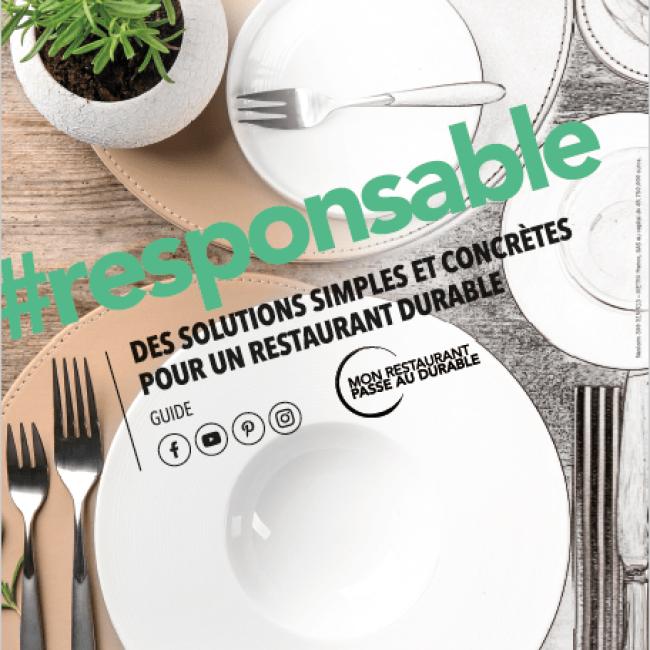 Le guide «Mon restaurant passe au durable»