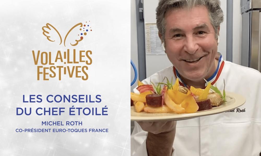 Volailles Festives : La caille selon Michel Roth