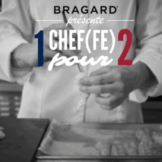 La Maison Bragard présente 1 chef(fe) pour 2 !