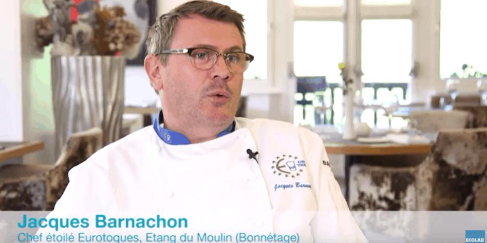Témoignage client du chef étoilé Euro-Toques Jacques Barnachon