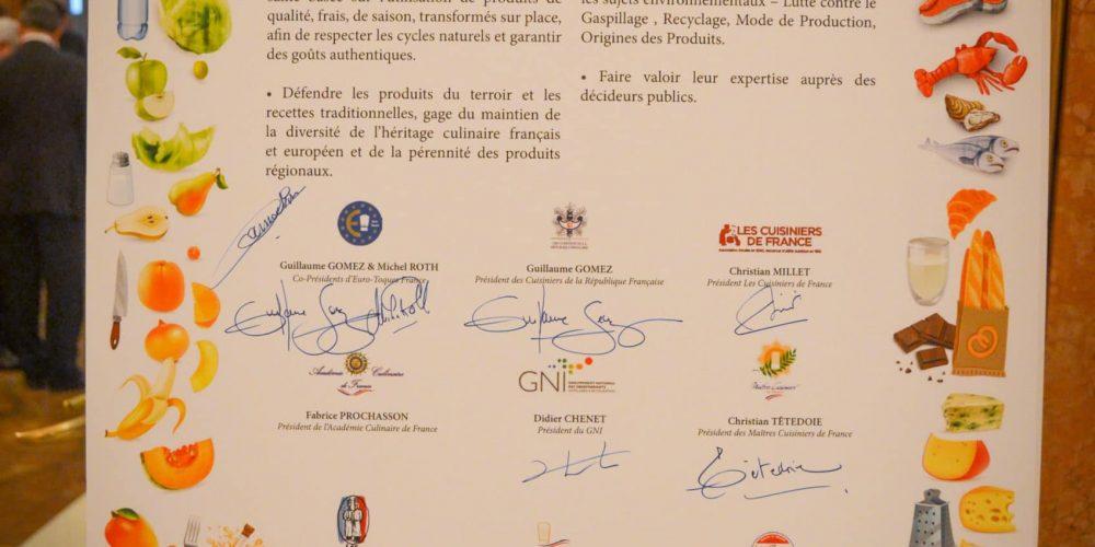 Euro-Toques France lance le Club des « Ambassadeurs du Produit »