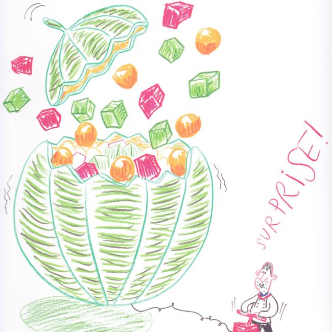 Melon surprise