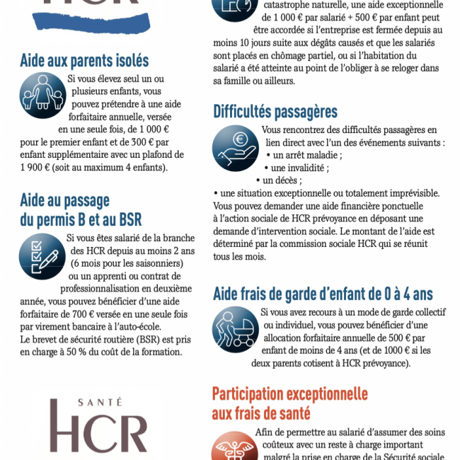 La branche HCR : solidaire et engagée en faveur des salariés