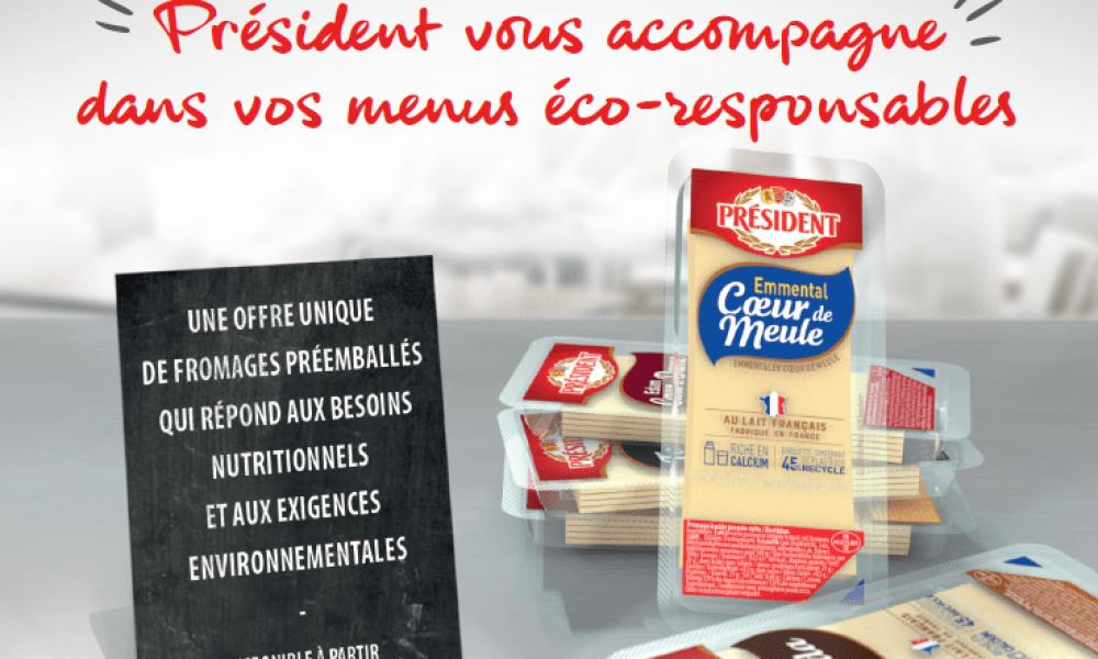 Président vous accompagne dans vos menus éco-responsables