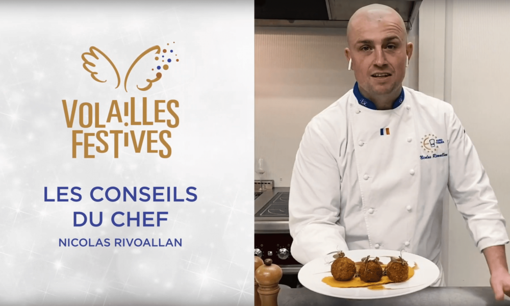 Volailles Festives : La Dinde selon Nicolas Rivoallan
