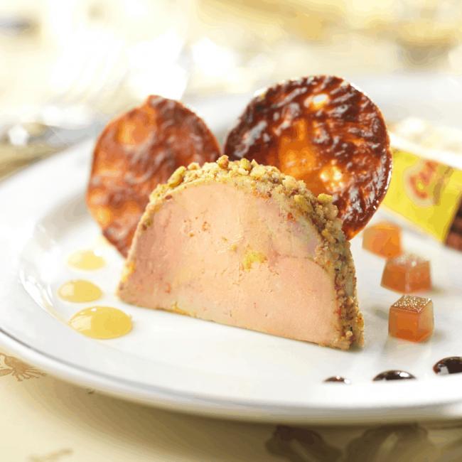 Foie gras de canard aux Carambar