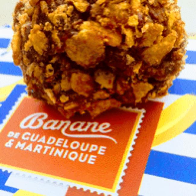 Sucettes P'ti dej chocolat banane céréales
